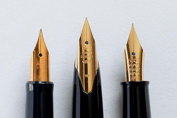 デスクペンのペン先