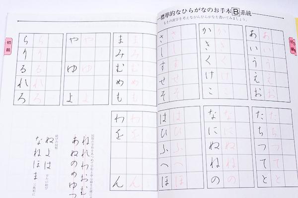 パイロットペン習字 テキスト(かな編)