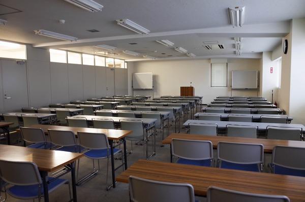 講習会が開催された教室の様子