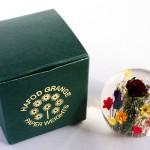 天然花を閉じ込めたペーパーウェイト Hafod Grange(ハフォド・グレンジ)